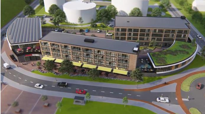 De plannen van W&W Vastgoed in Valley Centre West.