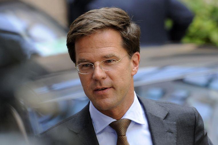 Mark Rutte in 2010. Beeld AFP