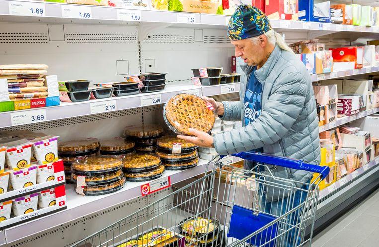 De prijzen in de winkels stijgen volgens de prognose van het kabinet volgend jaar met 1,5 procent.  Beeld ANP