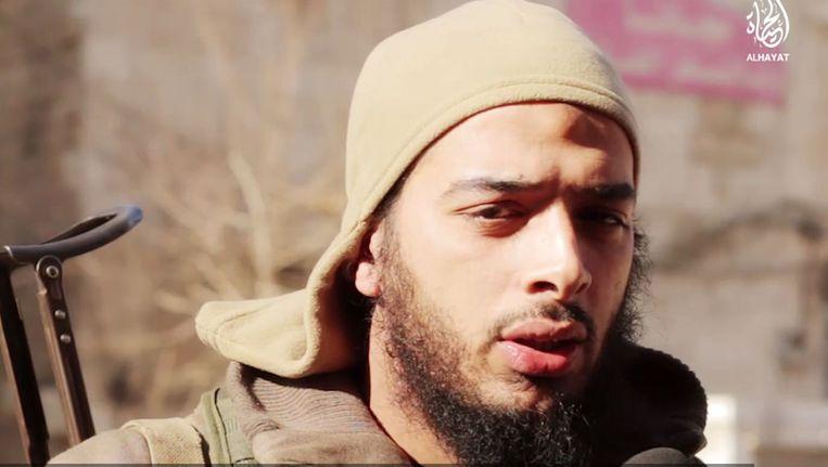 De Franse jihadist Salim Benghalem. Beeld AFP