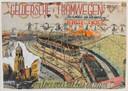 Werk 'Geldersche Tramwegen' van Willem van Genk, uit de collectie van Stichting het Dolhuys.