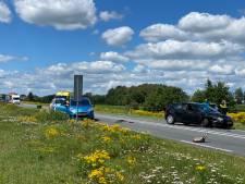 Veel schade en hinder na twee ongelukken op N35 tussen Wierden en Nijverdal
