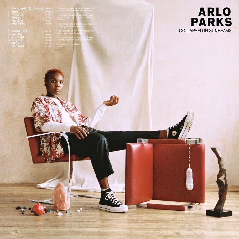 Arlo Parks, Collapsed in Sunbeams. Beeld