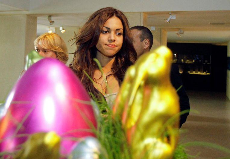 Karima El Mahroug, ook wel Ruby de Hartendief, in april dit jaar. Beeld REUTERS