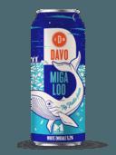 Wie het nieuwe bier van Davo koopt, steunt Team Migaloo in de strijd tegen de plastic soep in de oceanen