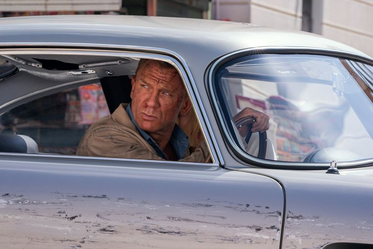 Daniel Craig in 'No Time to Die', de 25ste James Bond-film. Beeld Photo News