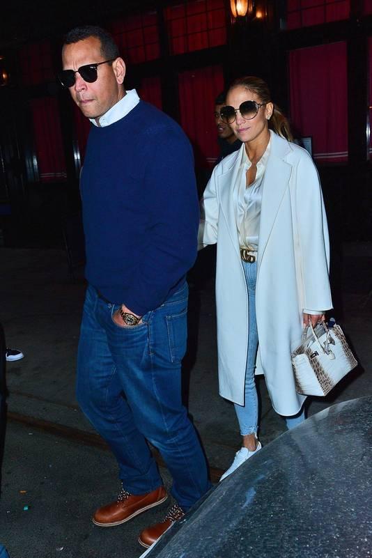 Alex Rodriguez et Jennifer Lopez