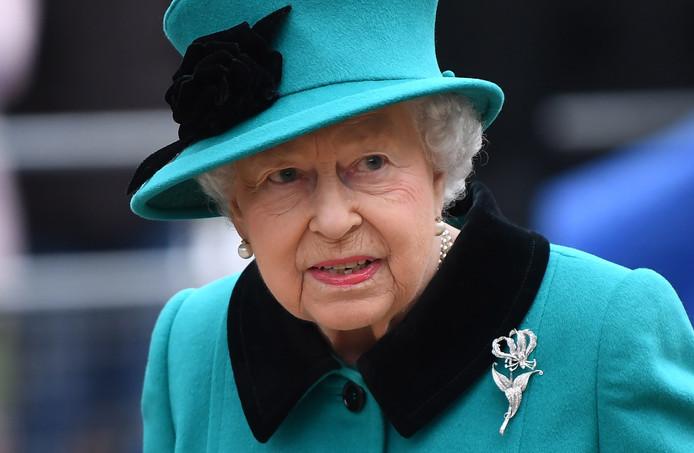 De Britse Koningin Elizabeth.