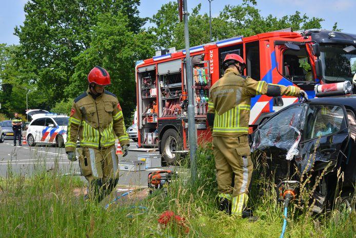 Ongeval op de Emerparklaan in Breda.