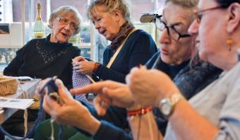 Ouderen in Ommoord vinden dat Nederland wel erg snel verandert