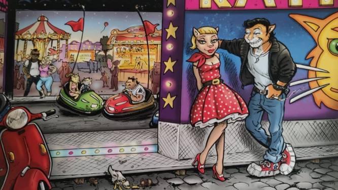 Jan Bosschaert tekent voor campagnebeeld Katte Kermis