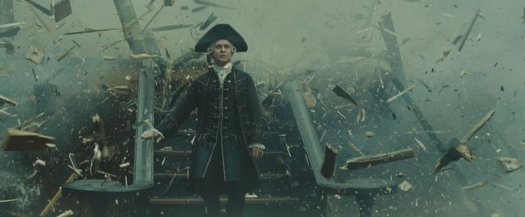 Tom Hollander in Pirates of the Caribbean: At World's End Beeld