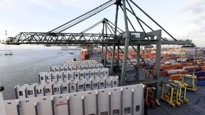 Tests boven Antwerpse haven met drones die kunnen inspecteren en bewaken