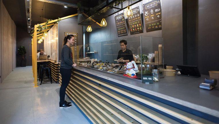 Het concept is simpel: een gezonde, voedzame en snelle hap Beeld Marijke Stroucken