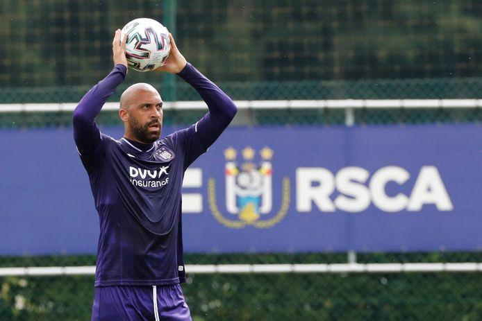 Anthony Vanden Borre trainde gisteren plots weer mee bij de U21 van Anderlecht.