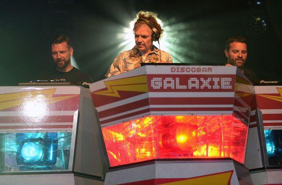 Discobar Galaxie is een vaste gast op de Leuvense podia.