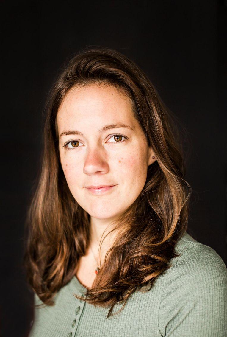 Verloskundige Rianne Scholten Beeld Eva Plevier