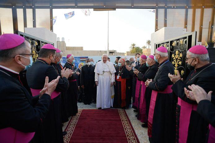 Franciscus riep op tot eenheid en tot een dialoog tussen de religies.