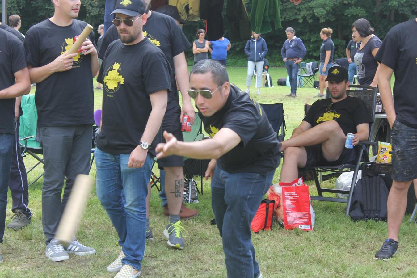 Team Alosta verdedigt de Aalsterse eer.