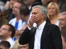 Mourinho kan het niet laten om kritiek te leveren