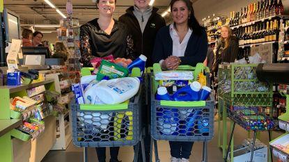 VIDEO. Komende maand elke zaterdag 1 minuut gratis shoppen in Carrefour Express in Oostkamp