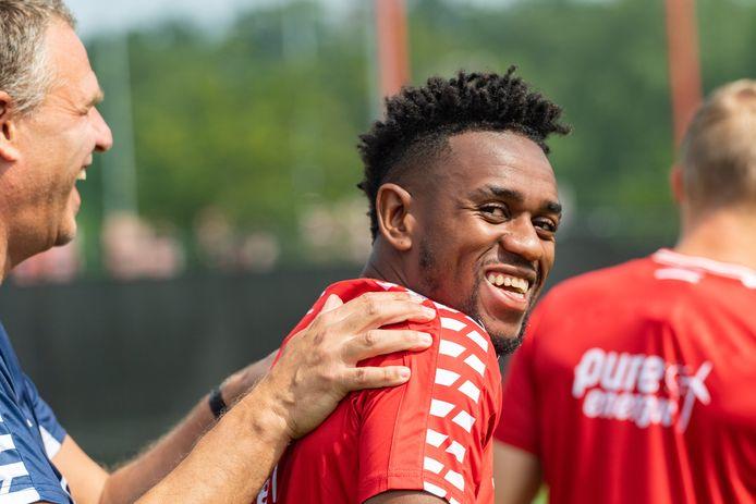 """FC Twente-speler Virgil Misidjan dagdroomde over spelen in De Grolsch Veste. """"Die gaat nu uitkomen."""""""