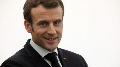Macron trekt nationaal debat op gang in dorpje in Normandië