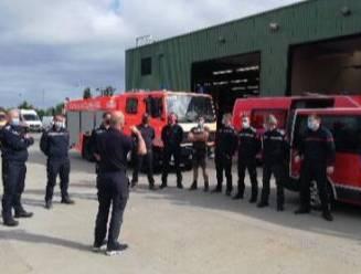 Tien brandweerlui uit de Westhoek vertrokken om hulp te bieden in rampgebied, anderen staan paraat