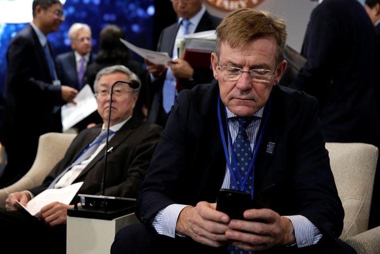 Minister van Financiën Johan Van Overtveldt. Beeld REUTERS