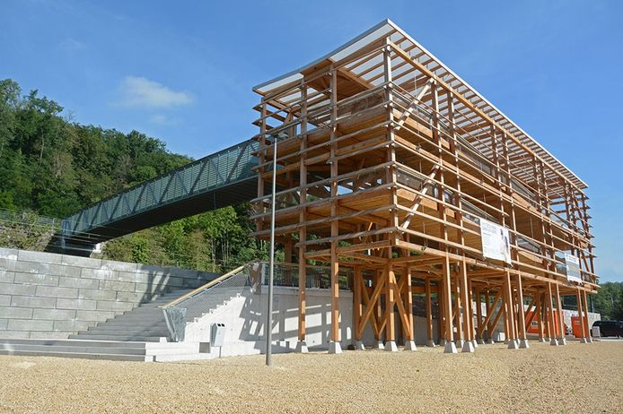 La passerelle Léon Tchiniss sera inaugurée ce samedi.