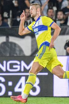 Winnende goal verandert voorlopig weinig aan status Matthijs de Ligt bij Juventus