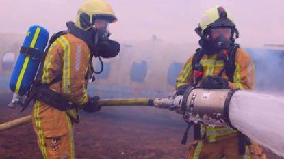 Brandweer zet zich in voor kankeronderzoek tijdens Levensloop