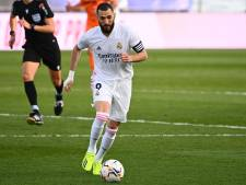 Le Real Madrid également privé de Karim Benzema, blessé