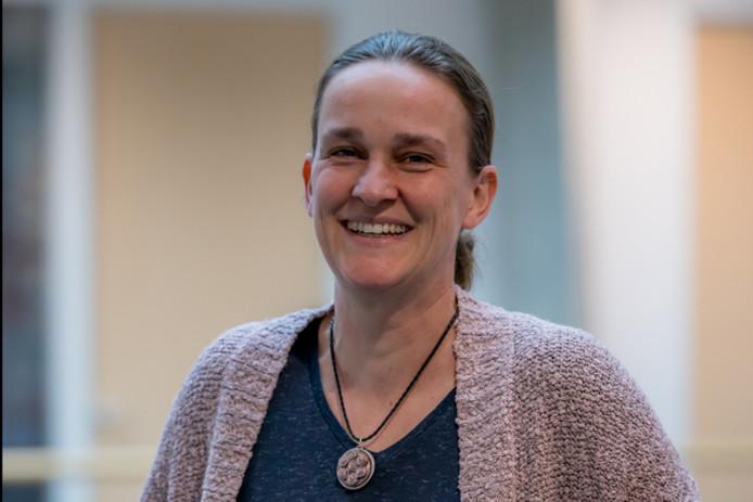 Raadslid Anita de Vos van de SP.