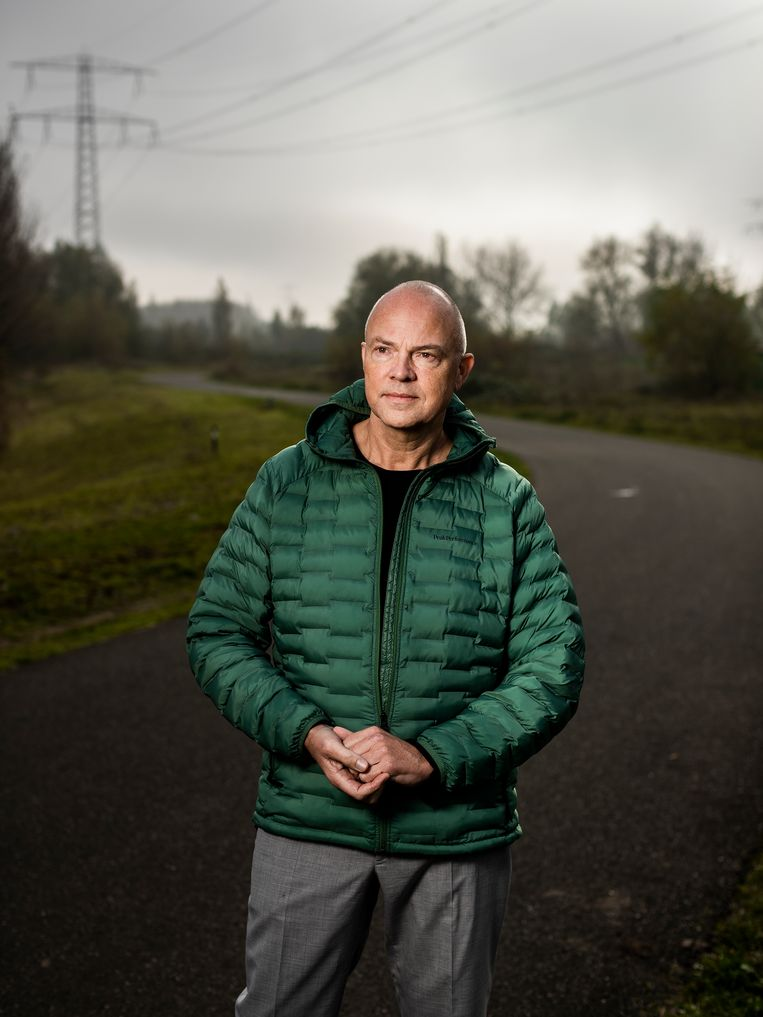 Berno Strootman: 'Wees voorzichtig met het volleggen van weides met zonnepanelen.'  Beeld Jiri Büller