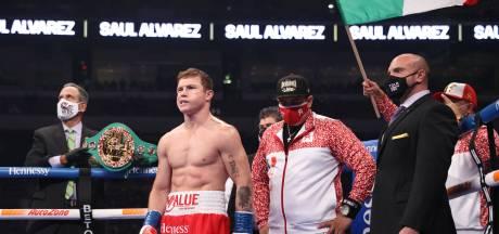 Superster Álvarez tekent contract voor twee gevechten