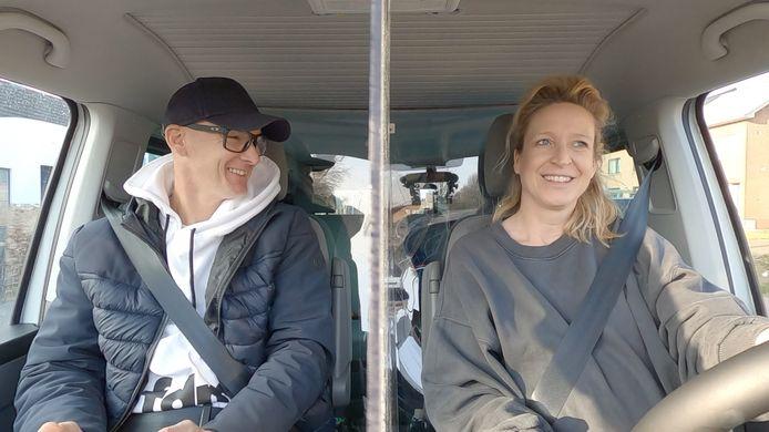 Stefan Everts en Cath Luyten in 'Buurman, wat doet u nu?'