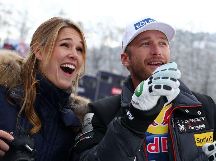 Bode Miller met zijn vrouw Morgan