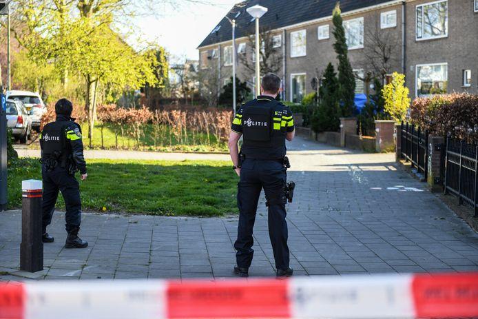 Politie in Alphen.