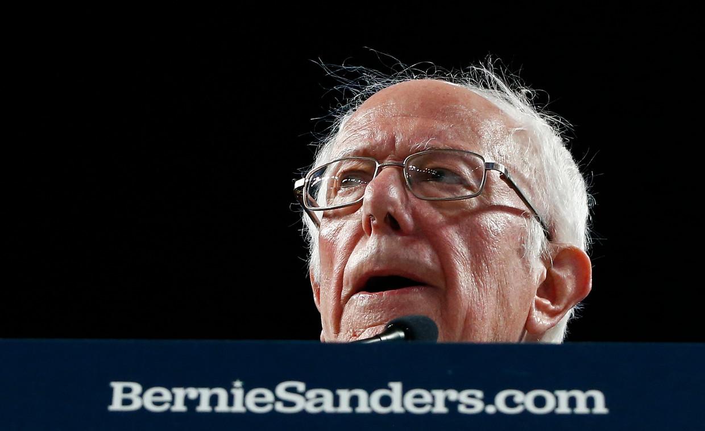 Bernie Sanders.  Beeld EPA