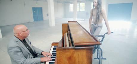 Wereldwijd beluisterde pianist Martèn LeGrand presenteert zijn eerste videoclip in Enschedese bioscoop