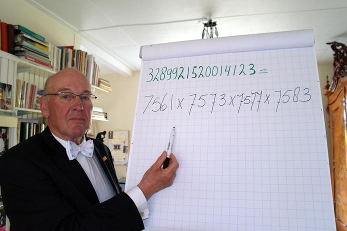 """Willem Bouman werd zaterdag in Duitsland """"wereldkampioen priemgetallen"""""""