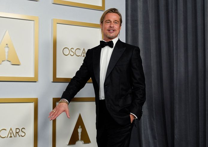 Brad Pitt aux Oscars.