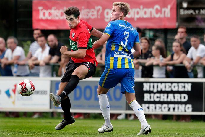 NEC en RKC oefenden twee jaar geleden ook tegen elkaar in Weurt.