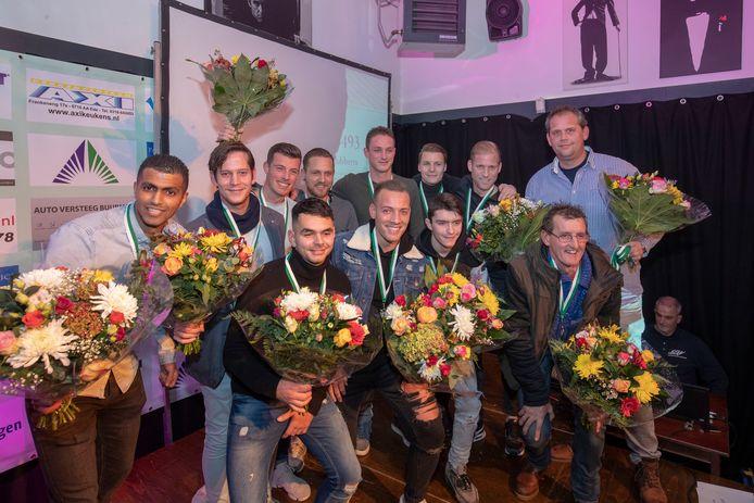 """Sportverkiezing van het Jaar Wageningen """"Sportploeg van het Jaar, WAVV"""""""