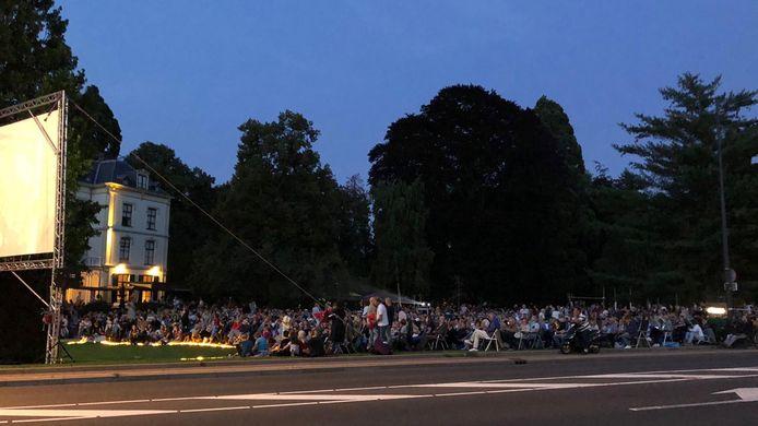 Buitenfilm in 2019 bij Villa Ruimzicht.