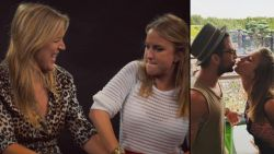 """Kat Kerkhofs toont met sappige anekdote dat Dries Mertens wel van wanten wist bij hun eerste kus: """"We waren pubers, hé"""""""