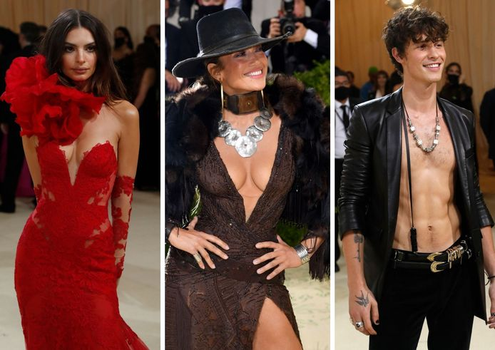 Emily Ratajkowski, Jennifer Lopez et Shawn Mendes.