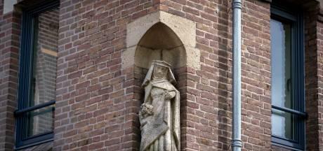 Dankzij collecte is beeld Sint Elisabeth er nog in Huissen