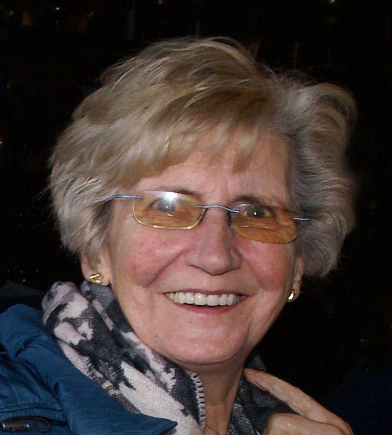 """Maria Dhont, mama van enkele muzikanten en """"onze grootste supporter""""."""
